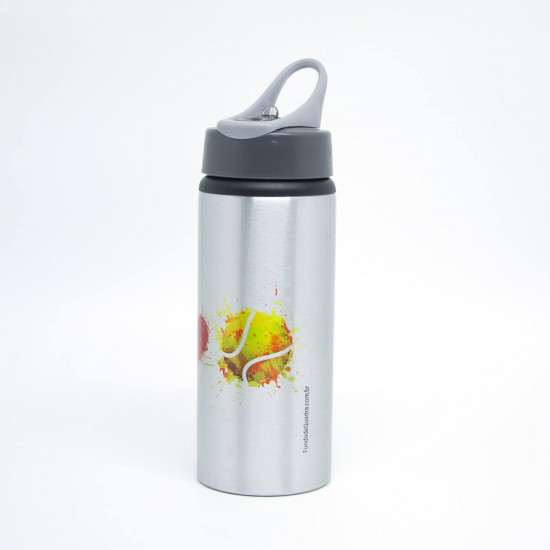 Squeeze Premium Prata 600ml We Love Tennis